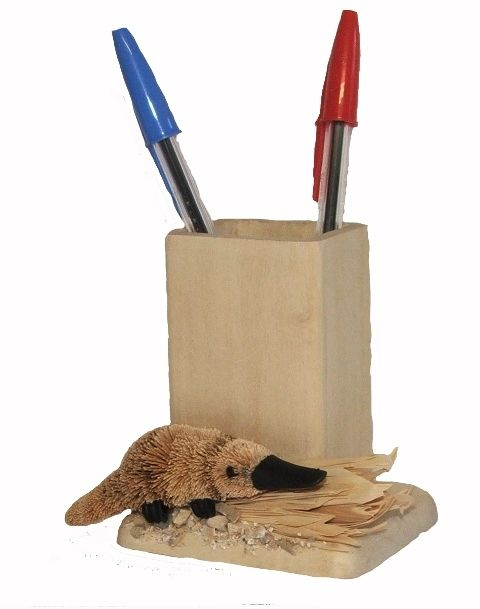 Platypus Pencil Pot - The Land Down Under