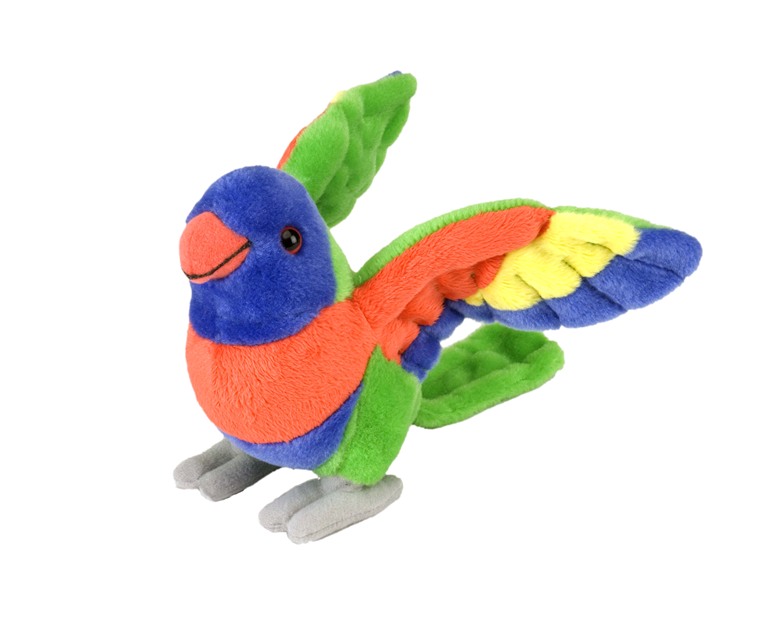 Rainbow Lorikeet Plush - 20cm - The Land Down Under
