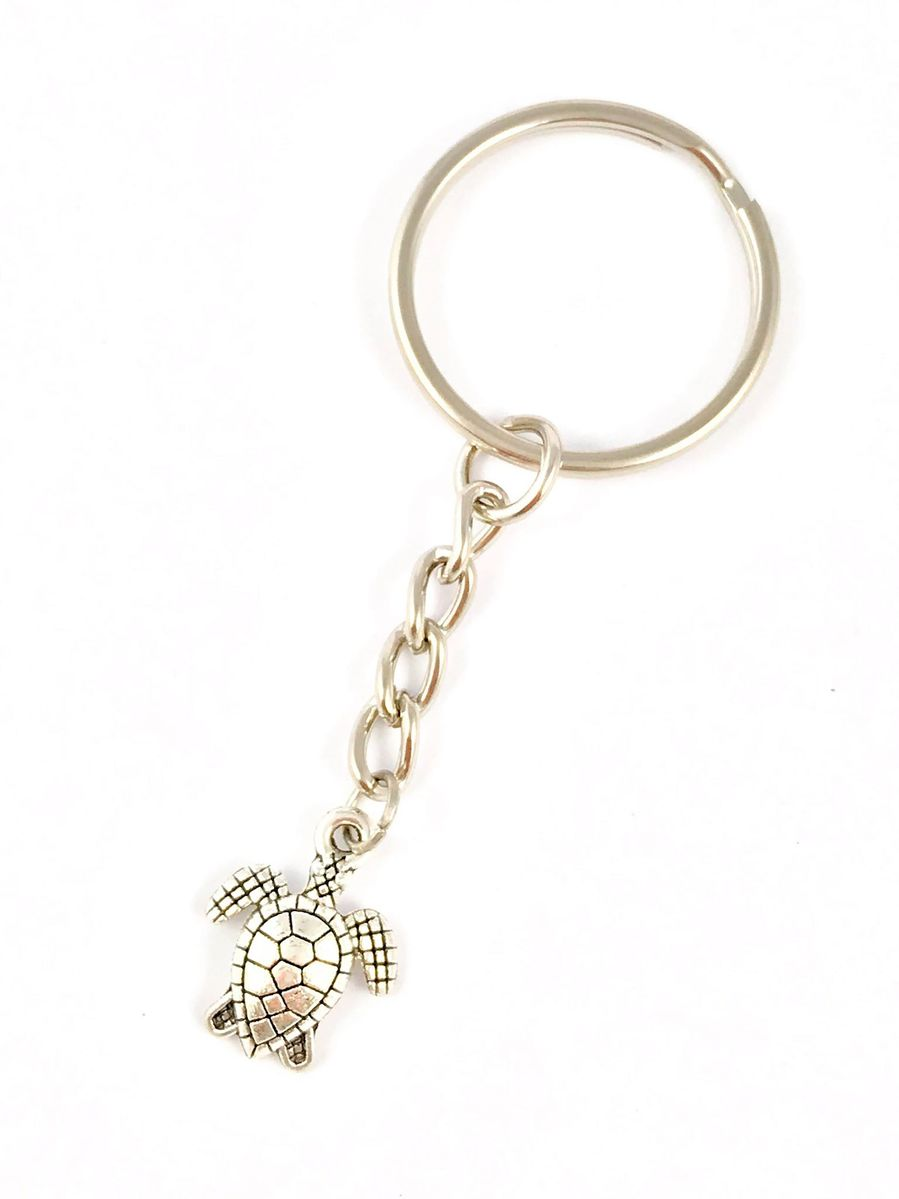 Silver turtle keyring - The Land Down Under