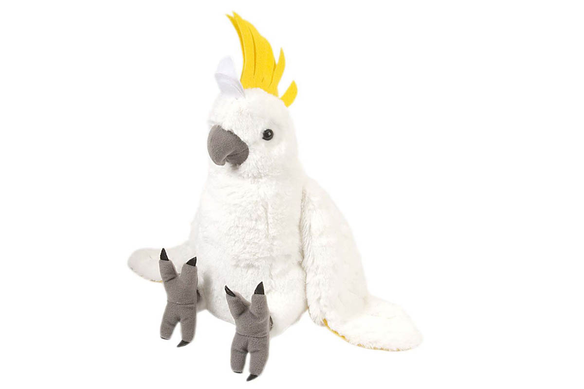 Sulphur Crested Cockatoo Plush