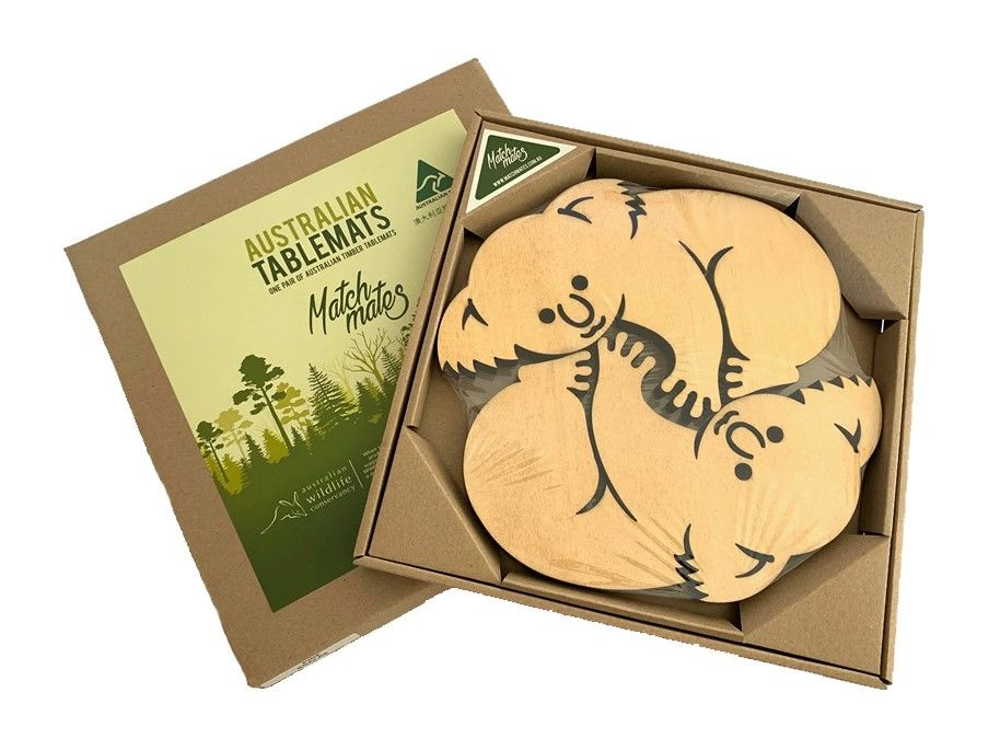 Tablemat - Trivet - Koala Pine - Set of 2