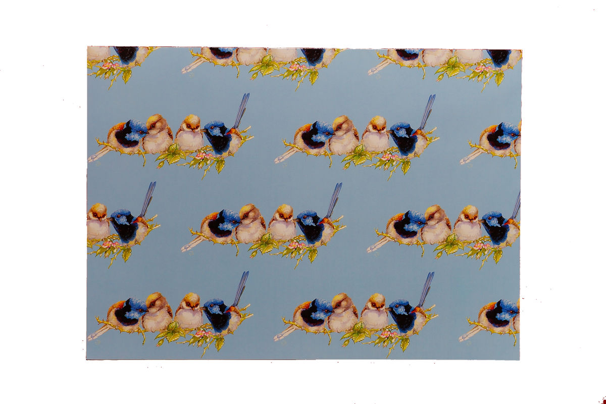 Variegated Fairy Wren Gift Wrap
