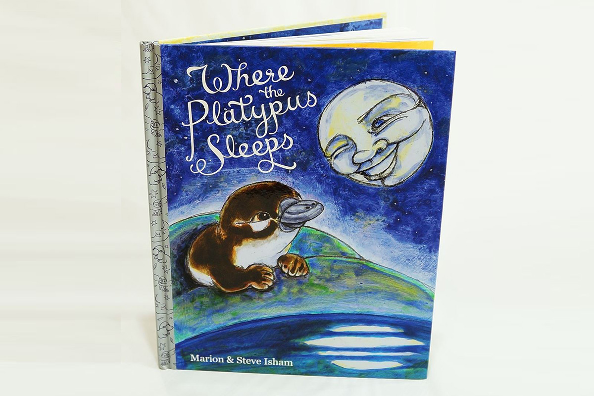 Where the Platypus Sleeps Hardcover Childrens Book