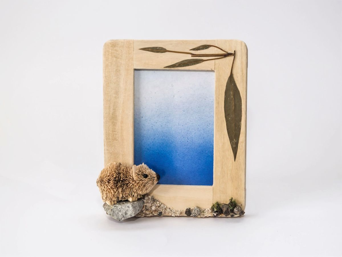 Wombat Photo Frame - The Land Down Under