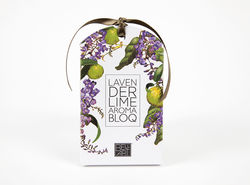 Enjoy the sweet scents of Australia with this Lavender and Lime Aroma Bloq - available fro