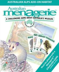 Australian Menagerie Board Game - Australian Alps Add On - NEW