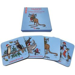 Coasters - Christmas Collection - set of 4
