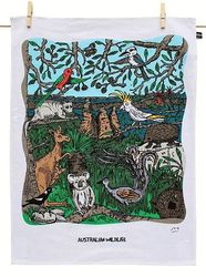Tea Towel - Australian Wildlife