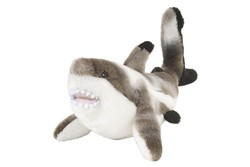 "Black Tipped Shark 10"" Plush"