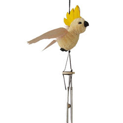 Cockatoo Wind Chime - delicate chime