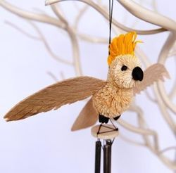 Cockatoo Wind Chime - The Land Down Under