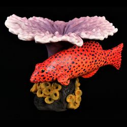 Coral Trout Figurine