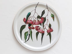 Eucalypt tray - 390mm diameter - available from The Land Down Under online store.