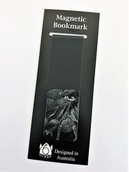 Magnetic Bookmark - Frill Necked Lizard