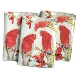 Passport Holder - Galahs