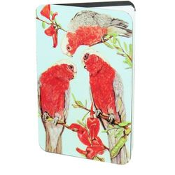 Galah Magnetic address book 6cm x 8.5cm  Image on both sides.  Record all of your importan
