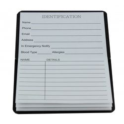 Galah Magnetic address book 6cm x 8.5cm  Image on both sides. Record all of your important