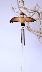 Kookaburra Wind Chime - The Land Down Under
