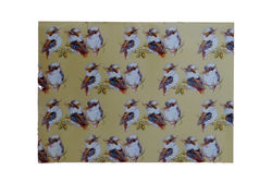 Laughing Kookaburra Gift Wrap