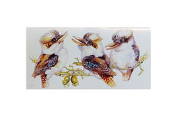 Laughing Kookaburra Gift Wrap Pack Card