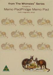 Memo Fridge Pad - Kangaroo