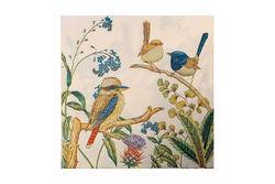 Napkins - Kookaburra and Wrens