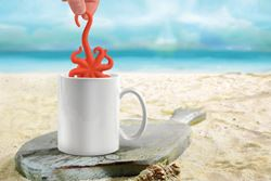 Octopus Tea Infuser - delight in tea from the depths of your cup.