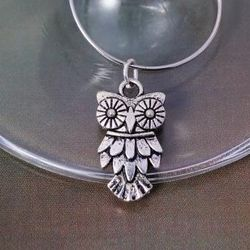 Owl Wine Glass Charm - Australian Made