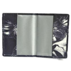 Inside Passport Holder - Black and White Koala