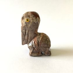 Pelican Stone Carving
