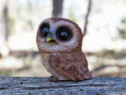 Sooty Owl indoor outdoor statue The Land Down Under