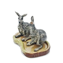 Make your dinner table a bounding success with these beautiful kangaroo salt and pepper sh