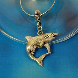 Shark Wine Glass Charm - Australian Made
