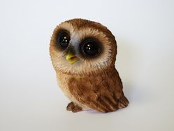 Sooty Owl Figurine