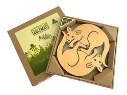 Tablemats - Trivet - Kangaroo Pine - Set of 2