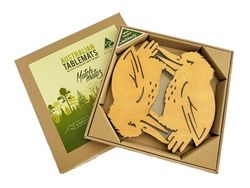 Tablemats - Trivet - Kookaburra Pine - Set of 2