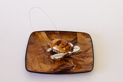 Turtle Napkin Holder - Banana Leaf features