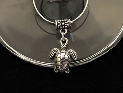 Wine Charm - Turtle