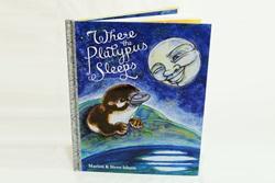 Where the Platypus Sleeps Childrens Book (Hardcover)