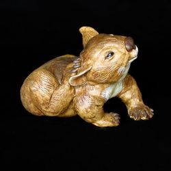 Wombat Character Figurine - small