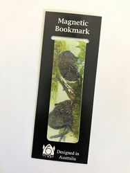 Magnetic Bookmark - Wombats