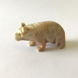 Wombat Stone Carving