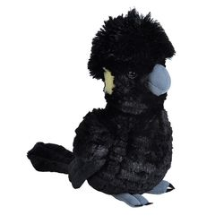 Cockatoo - Yellow Tail Black Cockatoo Plush